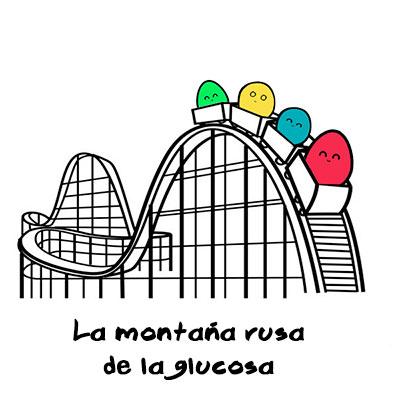 Montaña rusa de la glucosa