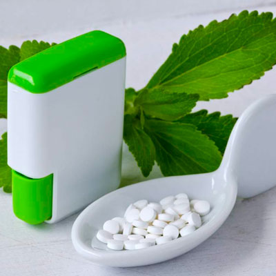 Stevia artificial en pastillas