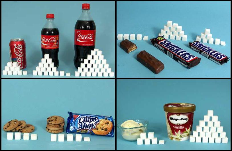 El azúcar oculto en los alimentos