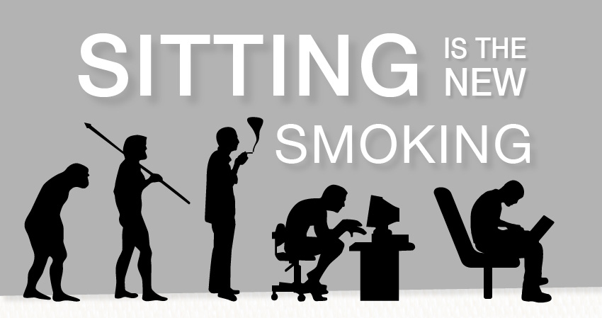 Estar sentado es el nuevo fumar