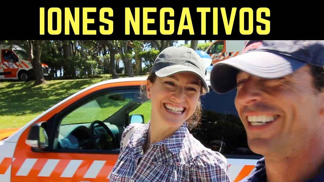 Qué son los iones negativos