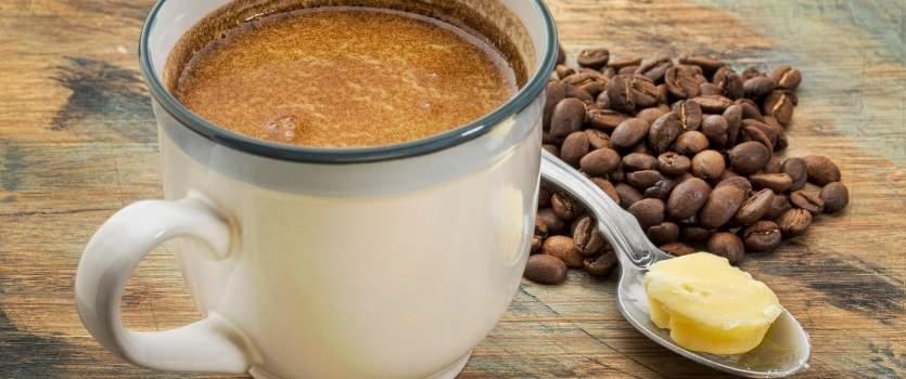 como hacer cafe con mantequilla