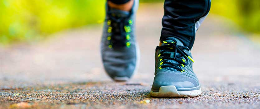 Caminar rápido alarga la vida