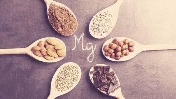 Alimentos con magnesio y suplementos