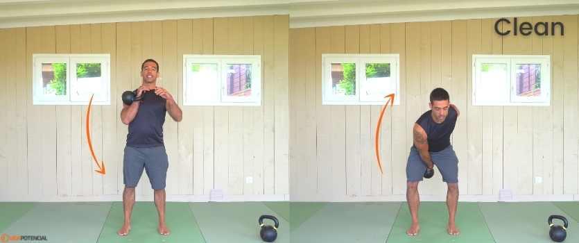 ejercicios kettlebells principiantes