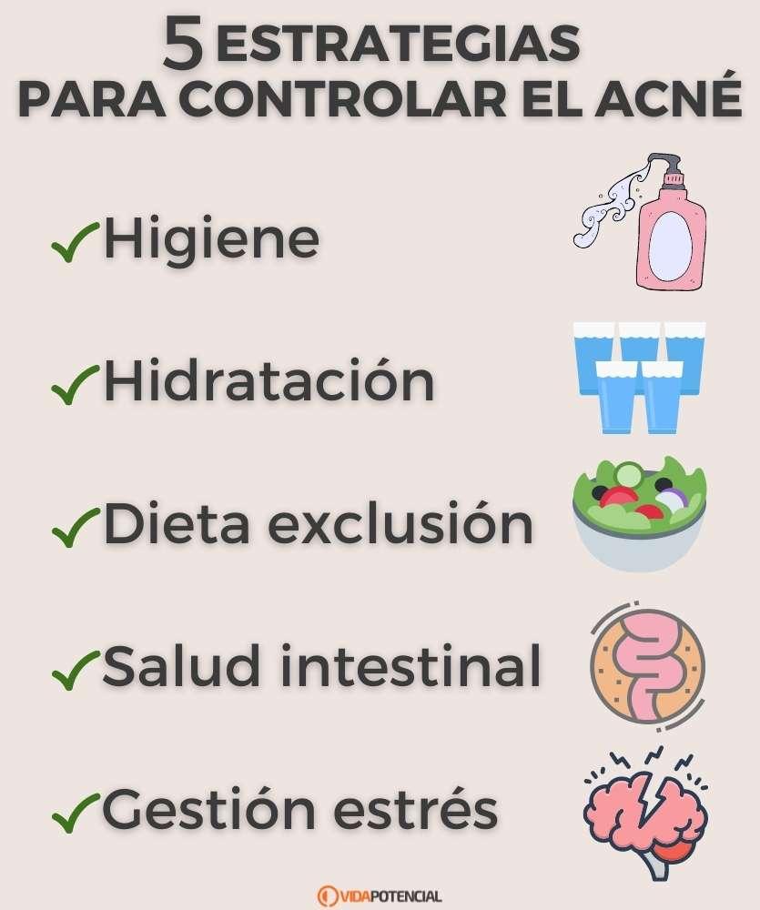 controlar acne