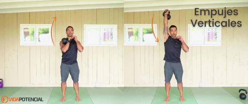 kettlebells ejercicios